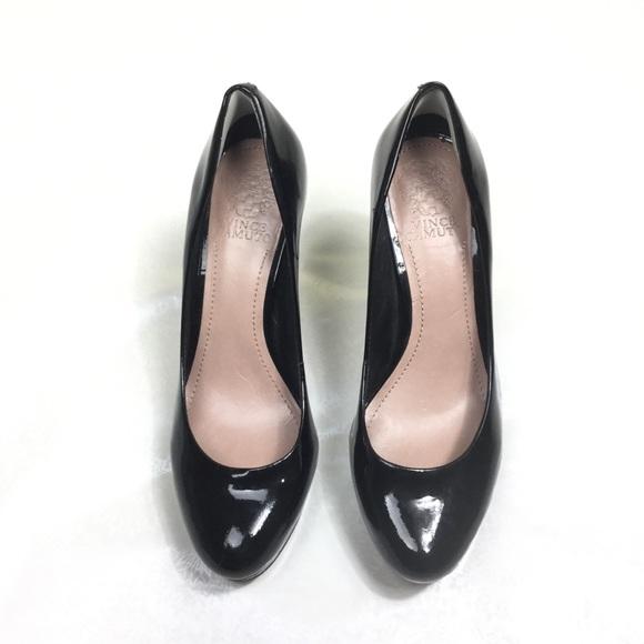 c89e5a332b Vince Camuto Shoes | Zella Black Patent Leather Pump 75 | Poshmark